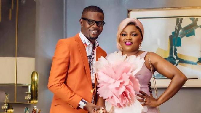 Funke Akindele and Husband JJC Skillz