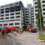 Nigerian Treasury House Abuja Burnt Down, Fire service probing cause