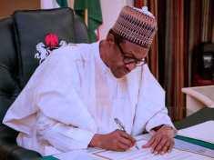 Buhari signs Financial Autonomy Order