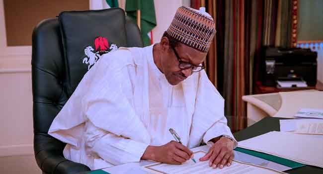 Buhari signs Financial Autonomy Order