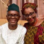 Kaduna state governor Nasir Ahmad El-Rufai @elrufai and his wife Hadiza Isma El-Rufai