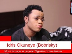 Idris Okuneye known as Bobrisky