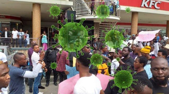 Lagos corona virus danger zones