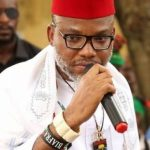 The leader of IPOB Mazi Nnamdi Kanu