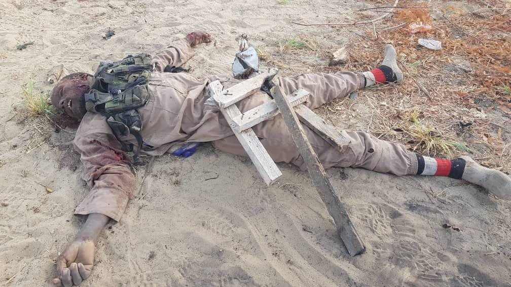 NIGERIAN ARMY KILL THREE BOKO HARAM TERRORISTS IN BORNO