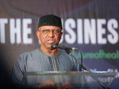 The Nigerian Minister of Health Osagie Emmanuel Ehanire