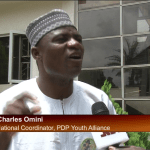 The PDP Youth Alliance national coordinator, Charles Omini