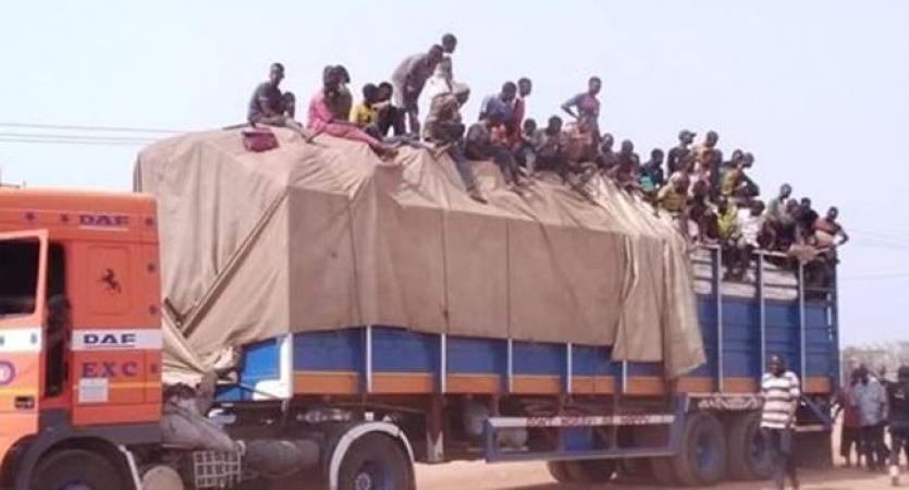 Trucks carrying almajiris intercepted on way to Akwa Ibom