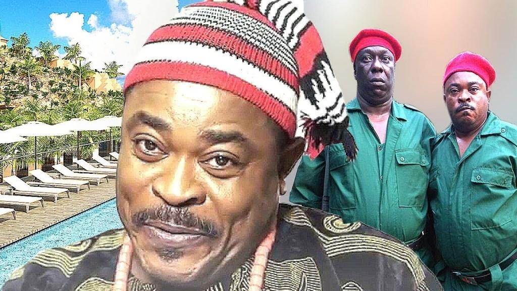 Victor Osuagwu in comedy movie