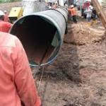 Breaking: President Buhari flags off $2.8 billion Ajaokuta-Kaduna-Kano (AKK) pipeline project.