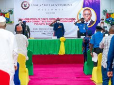 Governor Sanwo-Olu inaugurates Community Policing Committee to make Lagos state safer