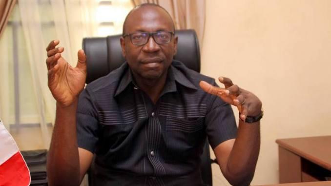 Ize Iyamu EDO APC Governorship Candidate