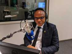 Mazi Nnamdi Kanu on live broadcast