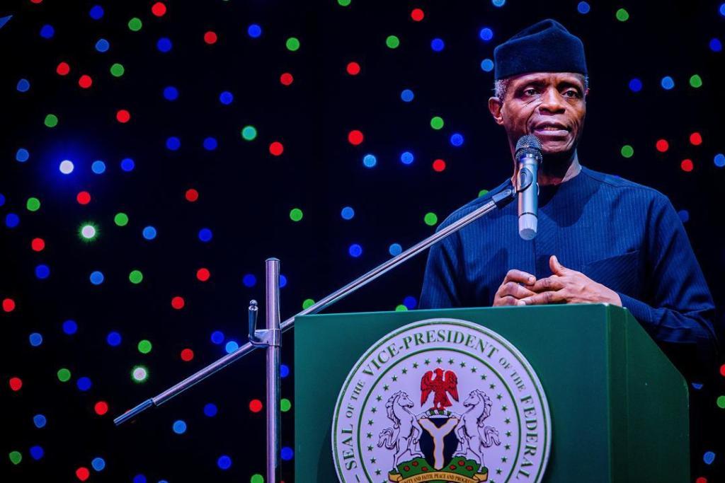 Vice president of Nigeria Yemi Osinbajo