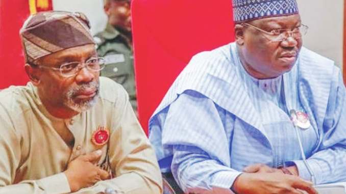 Senate President Lawan and House of Reps Speaker Gbajabiamila