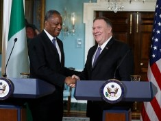 The United States Secretary of State, Michael Pompeo, on Tuesday phoned the Minister of Foreign Affairs, Geoffrey Onyeama