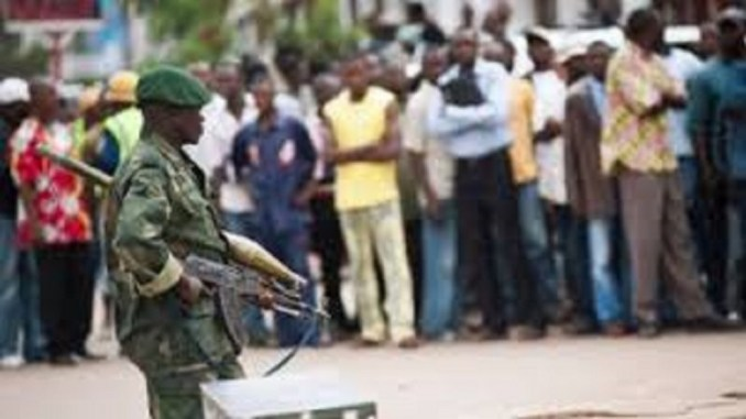 Drunk Soldier Kills 12 and Injures 9 in a public shooting spree in Congo