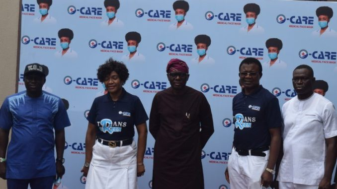 Governor Sanwo Olu Commissions Nigerian First Indigenous Medically Certified Face Mask Factory in Lagos