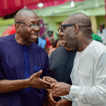 Ize Iyamu and Governor Obaseki