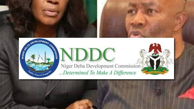 Joy Nunieh and Godswill Akpabio - NDDC