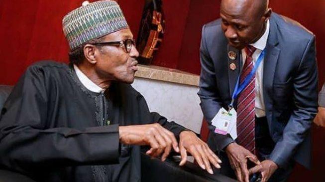 President Buhari and Magu
