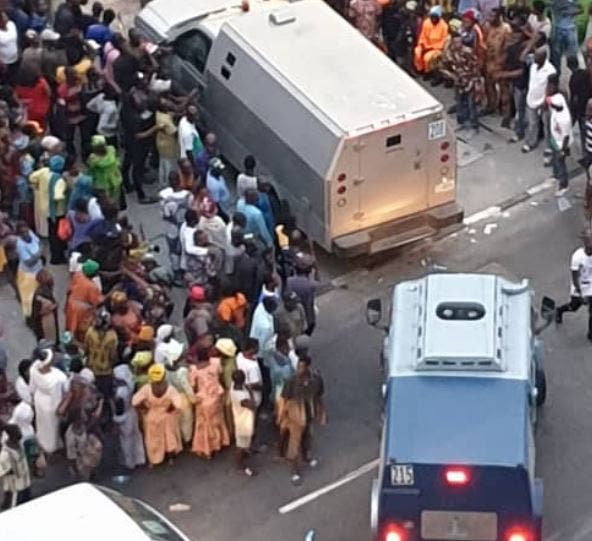 Tinubu and Bullion Van