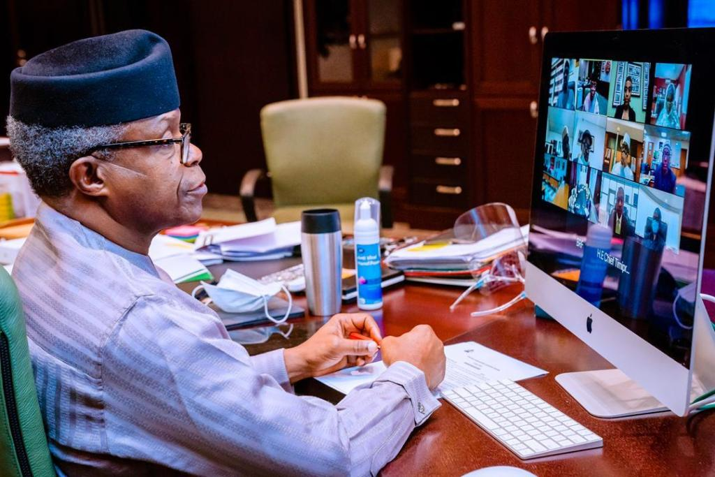 Vice president of Nigeria Prof. Yemi Osinbajo