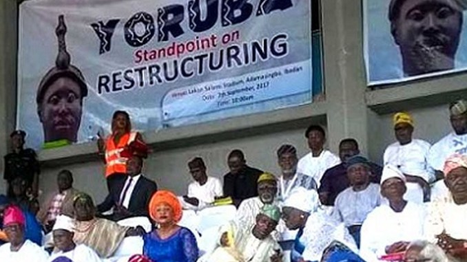 Yorùbá Nation rejects holding of general election before restructuring of Nigeria
