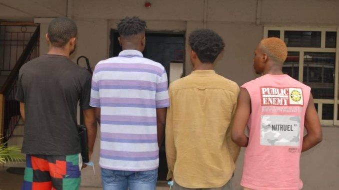 Alleged $111,500 Internet Fraud- EFCC Arrests 4 Uniport Undergraduates In Port Harcourt
