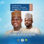 COMRADE LUKMAN O. AHMED HEARTLY CONGRATULATE HIS EXCELLENCY ALH. YAHAYA ADOZA BELLO,THE EXECUTIVE GOVERNOR OF KOGI STATE ON HIS VICTORY @ THE SUPREME COURT. The National Coordinator of Freedom Network Group Congratulates the action Governor of Kogi State, His Excellency Yahaya Adoza Bello on his well- deserved Victory at the Supreme Court this Morning dated 31st, August, 2020. This was disclosed at the online interaction with some of the Executive of the Group from Kogi State. In a statement by the National Coordinator, the Supreme Court Judgment is a Victory to Democracy, A Victory to APC family in Kogi State and Nigeria. This Victory will give the His Excellency Yahaya Adoza Bello ability to do more in terms of developmental programs and policy to the good people of Kogi State. Congratulations Your Excellency ! E- Signed: COMRADE LUKMAN O.AHMED NATIONAL COORDINATOR FREEDOM NETWORK GROUP. 31ST, AUGUST, 2020.
