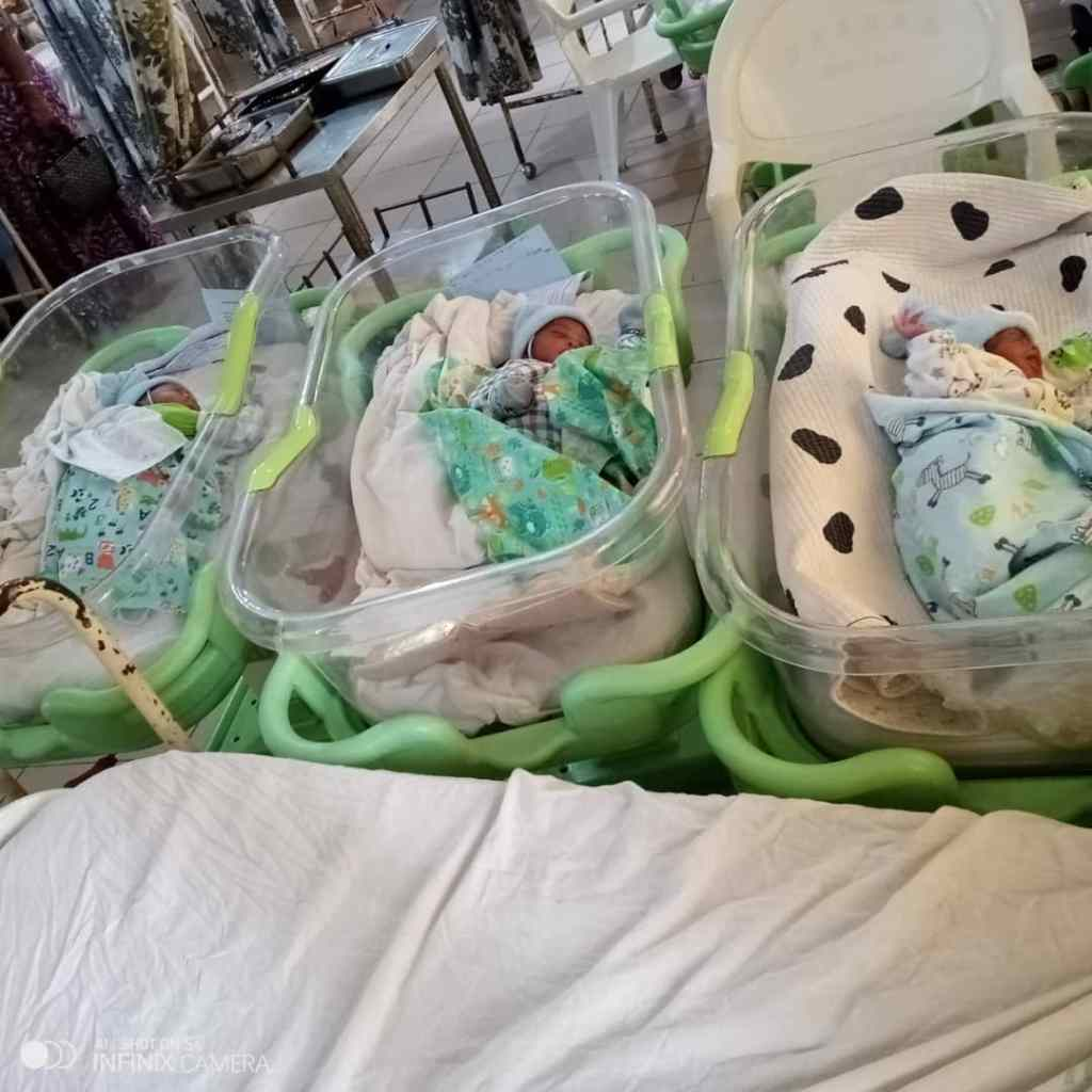Farmer Whose Wife Give Birth To Triplet In Osun State Calls For Help