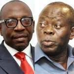 Oshiomhole and Ize-Iyamu