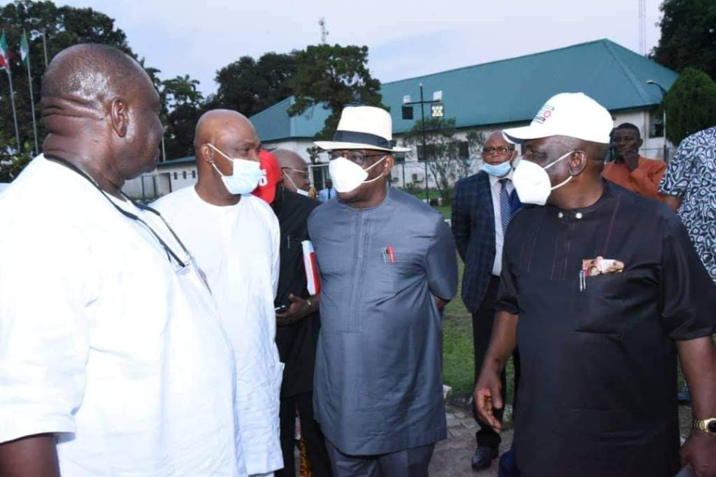 Governor Wike and other PDP Governors