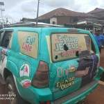 Ondo PDP Campaign Team Attacked By Suspected APC Thugs at Oba-Akoko few minutes ago