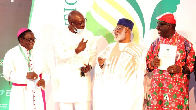 Photonews from the Signing of the Peace Accord, by Edo State Governorship Candidates