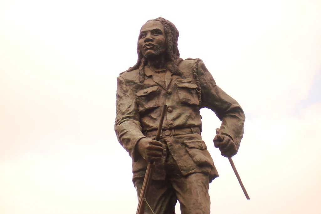 Dedan Kimathi statue, Nairobi Kenya