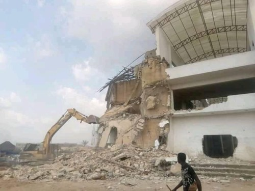 Hope Uzodinma ordered demolition of Somto Hospital