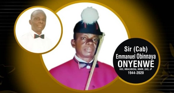 Late Sir Emmanuel Obinnaya Onyenwe