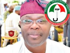 Chief Dr Eddy Olafeso - S-West PDP Chairman
