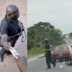 Illegal roadblock and checkpoints in the South East