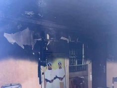 Sunday Igboho's house set on fire around 3 am Tuesday morning