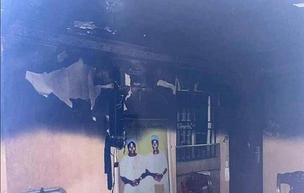 Sunday Igboho's house set on fire around 3 am Tuesday morning
