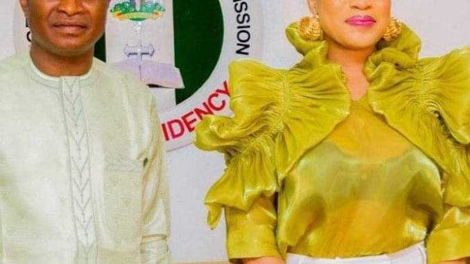 ACTRESS TONTO DIKE BAGS AMBASSADOR OF PEACE AWARD BY NIGERIAN CHRISTIAN PILGRIM COMMISSION