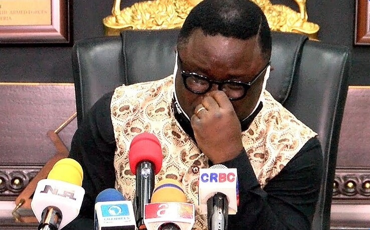 Ben Ayade the weeping governor
