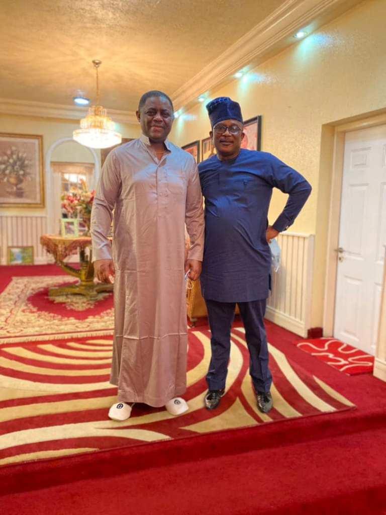 Fani Kayode and Senator Smart Adeyemi