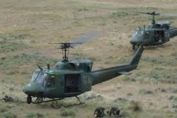 Military Helicopters in Orlu