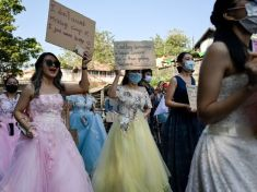 Myanmar coup- Woman 'shot' at protest fights for life