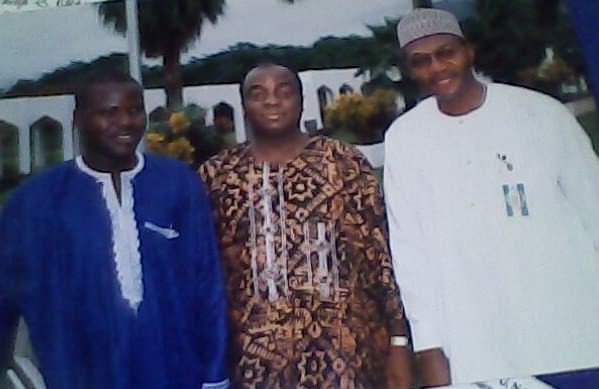 Richard Odusanya, Bishop David Oyedepo and Sen Andy Uba