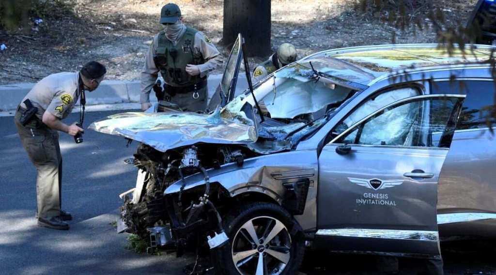 Tiger Woods narrowly escapes death after crashing SUV in California