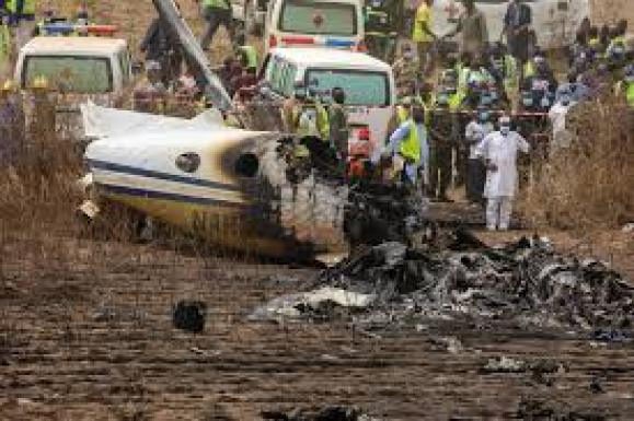 Abuja military plane crash